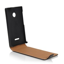 Top quality Back phone cover flip leather cover for Microsoft Lumia 435