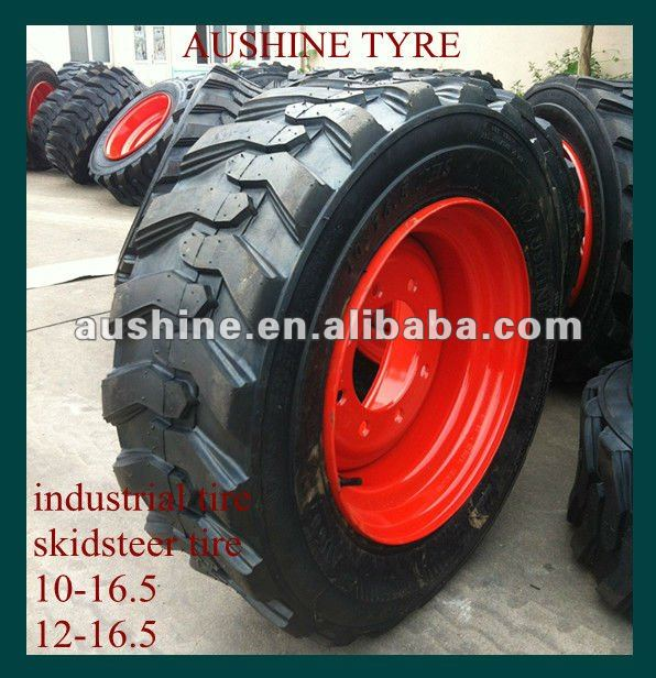 bobcat skid steer tires with wheels 10-16.5
