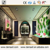 fashionable design helpful for film for furniture wall 3d hollow ceramic block