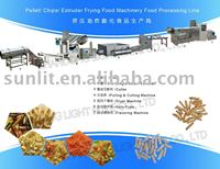 Extruded potato chips making machine