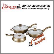 CE / EU,FDA,LFGB,SGS Certification and Eco-Friendly Feature quality DIe Cast Ceramic Cooking Pots