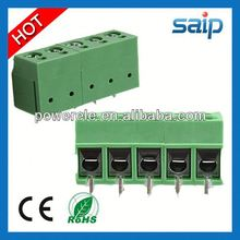 New Design MU2.5-H5.0 PCB pcb terminal block 3.5mm pitch 2pole double deck