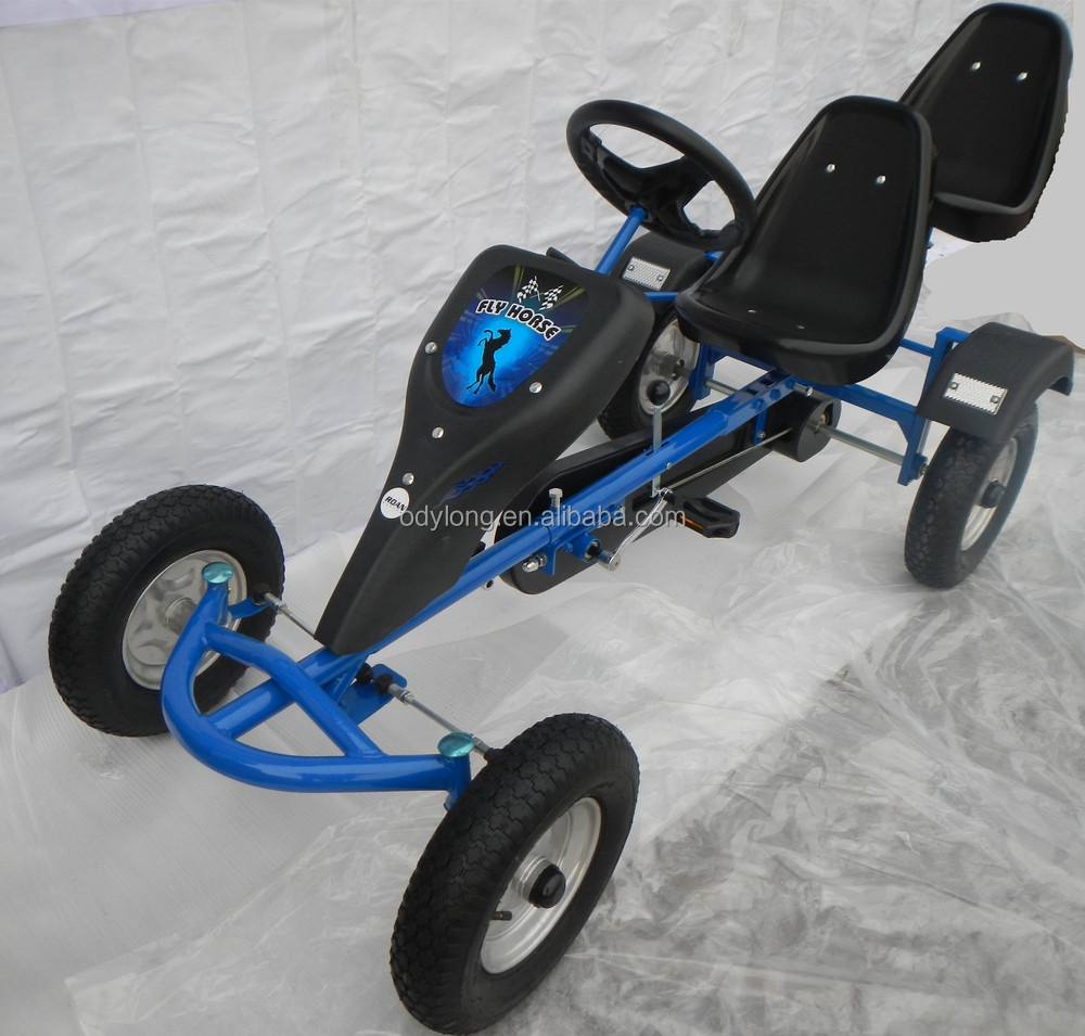 two person pedal car for kids 2 persons View two person