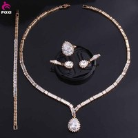 High Fashion Rose Gold Plated Fine Wedding Jewellery