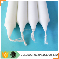Wholesale making paraffin white plain candles factory