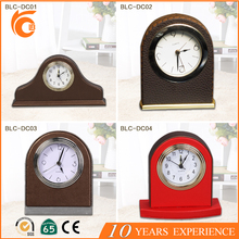 Hot Selling 2016 Hotel PU Leather Cover Desktop Alarm Clock