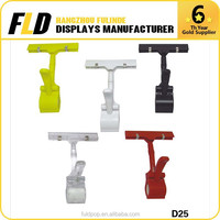 Direct Factory Price Supermarket POP Thumb Display Clip