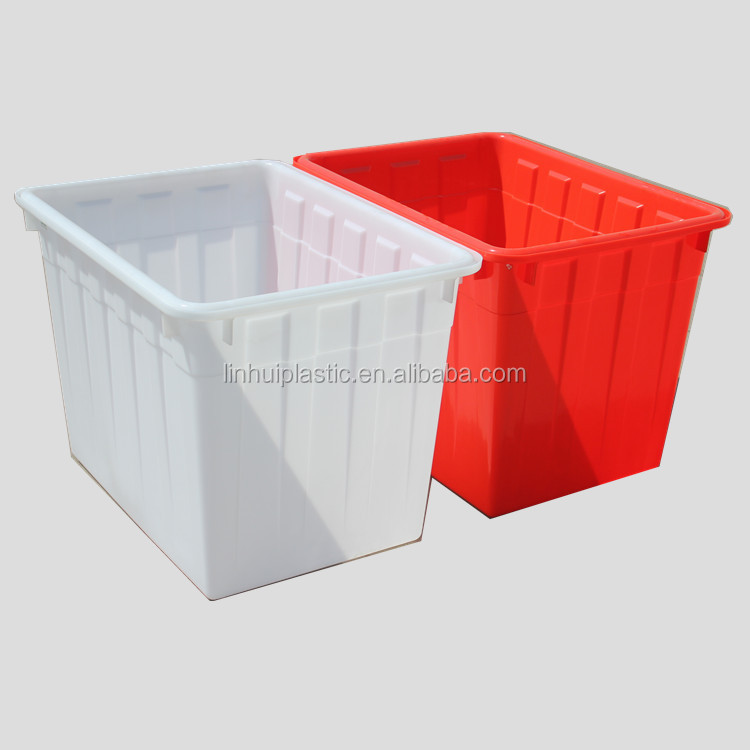 200L Lower price economic workshop warehouse large plastic fish tubs
