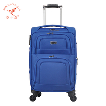 Top grade trolley nylon luggage case luggage trolly bags,travel luggage bags