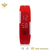 silicone led watch,watch silicone, silicone watch band 9002