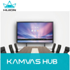 "Presentation and Training Solutions Interactive Display Huion Kamvas Hub All in one 75"" Touch Screen"