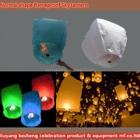 Normal shape flameproof Sky lantern