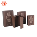 Custom logo luxury flat flip top magnetic collapsible cardboard package gift boxes