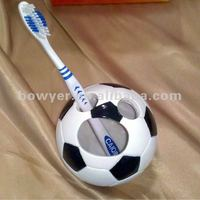 Souvenir Polyresin Toothbrush Stand Football Team