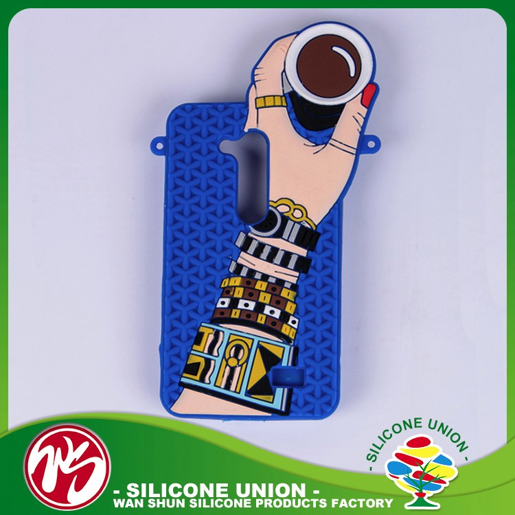 Attractive design silicone elegant popular custom phone case