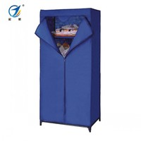 Cheap Movable Easy Assembly Cloth Wardrobe