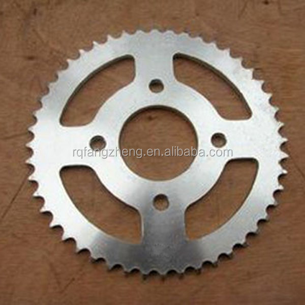 Exports to South America motorcycle chain and sprocket kits(steel wheel)