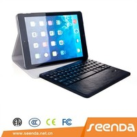 Removable Bluetooth Keyboard, leather case with keyboard for iPad Air 2