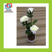 Decorative artificial nylon flower making(CT7024724)