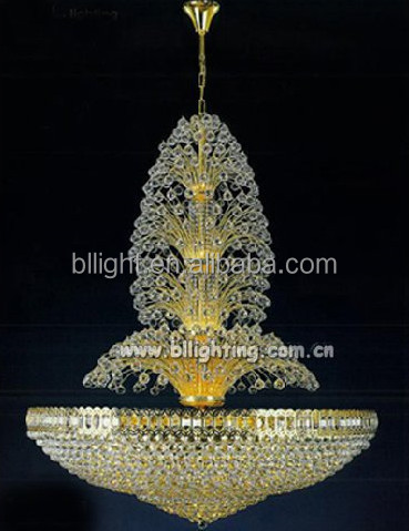 Classic style crystal chandelier replacement parts