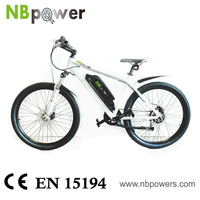 Low price Bike White Frame Power 250W Motor Bike