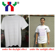 solar discoloration ink for T-shirt