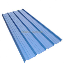 low price long span color coated corrugated roofing sheet