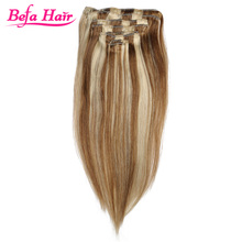 2015 Most Beautiful Half head Great Length Clip In Hair Extensions
