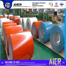 Hot selling 1250mm matt ppgi prepainted galvanized iron steel coil 2016 with high quality