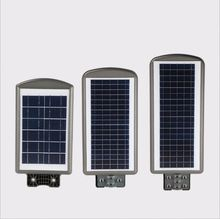 Factory New Design High LumensSensor garden solar light 60W all in one led solar street light