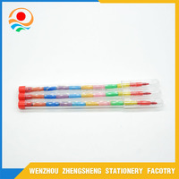 10 Section Stackable Bullet Crayon For