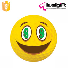 80-90 Hardness Golf Ball Two Piece Ball Conformation Emoji Golf Balls