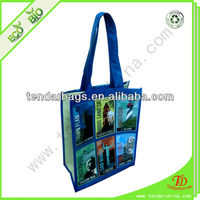 Cheap Custom Printed Nonwoven Laminated Bag Or Shopping Bags