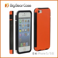 Ultra thin plastic with screen protector hard case cell cover for iphone 5 5s case