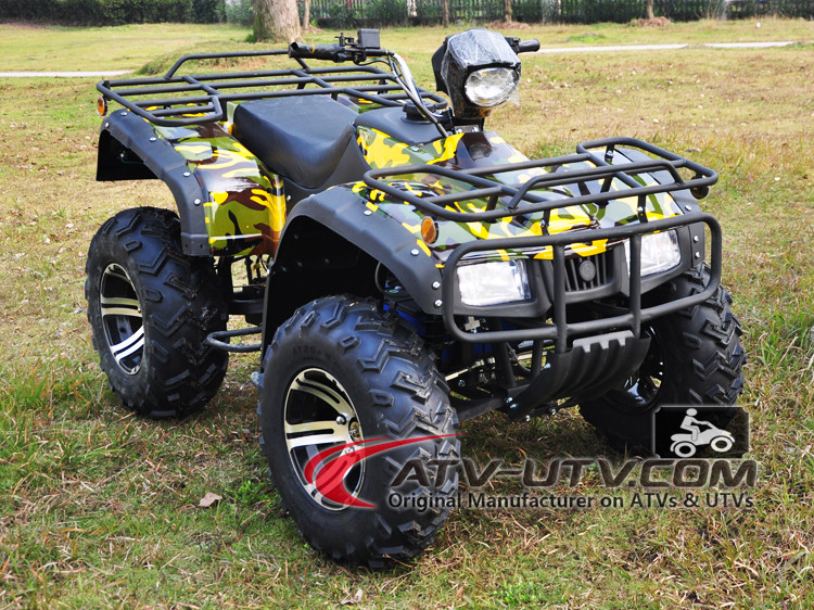 electric quad atv 6000w AC Motor (loading two person)