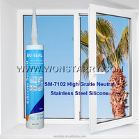 neutral crack proofing stainless steel silicon sealant