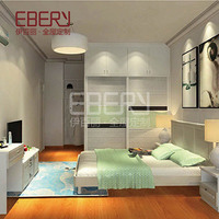 Foshan furniture customize large capacity master bedroom wardrobe