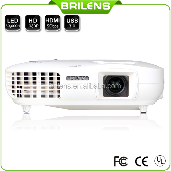 Brilens 3000 Lumens Digital Full HD LED Projector <strong>1080P</strong>
