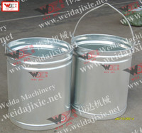 Myanmar latex collecting bucket/latex filling bucket/rubber bucket