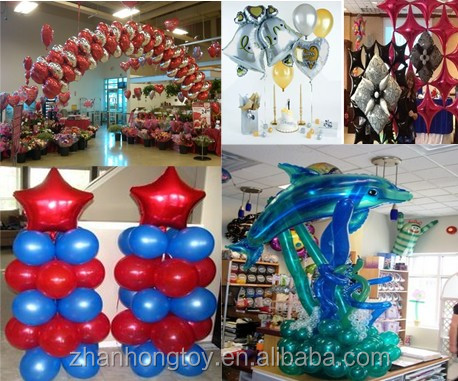 "18"" inches printed decoration foil mylar balloons"