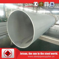 anticorriation high quality welded polished 304 metric stainless steel tubing