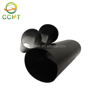 High resistance to abrasion heat shrink medium wall tube with and without glue