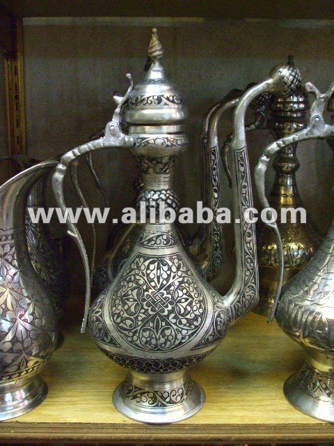 ANTIQUE ISLAMIC OTTOMAN PITCHER