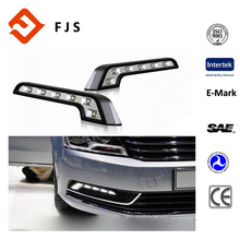 2X 6LED White Car Driving Lamp LED Fog Light Lamp 12V daytime running light for Audi BMW Mercedes Porsche Lexus