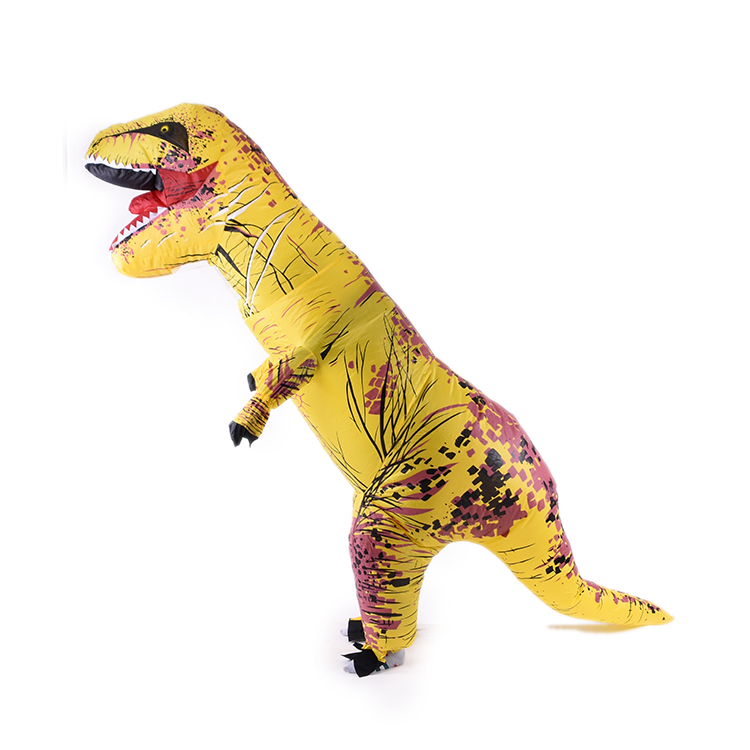Design For Kids Jurassic World Dinosaur Cosplay Animal Inflatable Costume Mascot