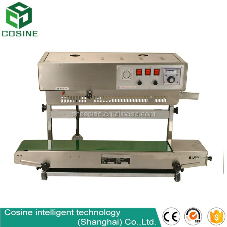 PVC heat sealing machine for plastic bags