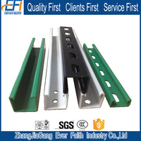 China Manufacturer Corrosion Resistance Channel Steel Dimensions