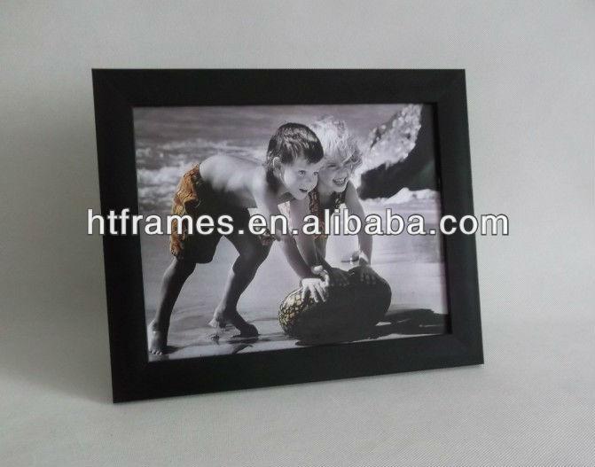 De Plástico Negro Marco De 8x10 4x6 5x7 - Buy Marco De Fotos Negro ...