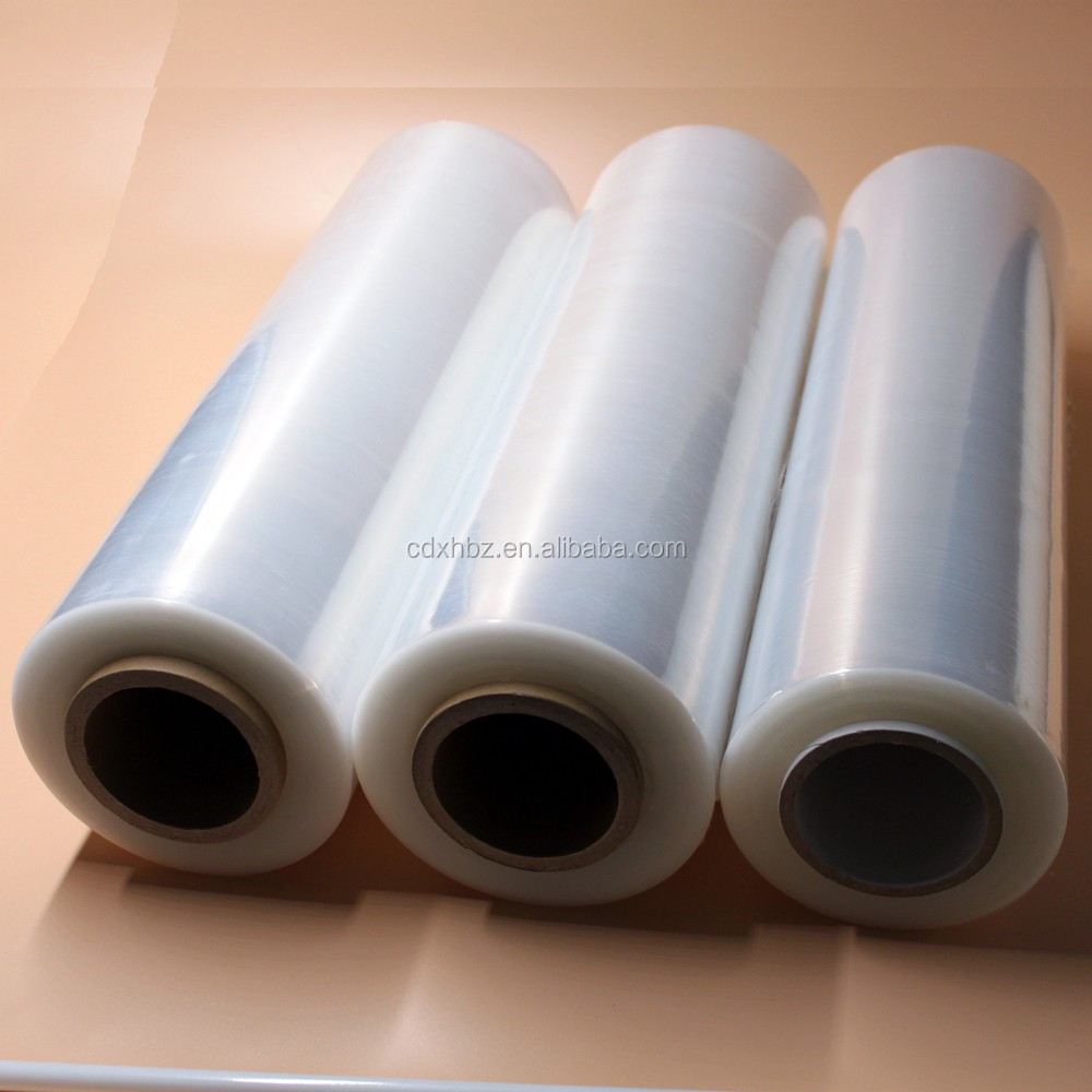 Xinhe glossy transparent holographic lamination pe film