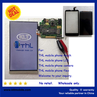 Brand New THL W8S W8+ W8 touch+lcd screen cellphone assembly repair parts guangzhou supplier